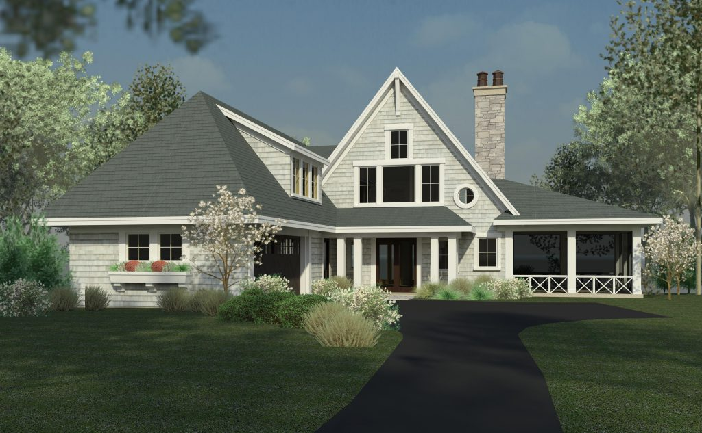 Hage homes minneapolis minnesota sharratt design for Shingle style cottage