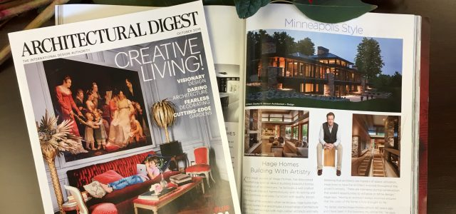 Hage Homes in Architectural Digest