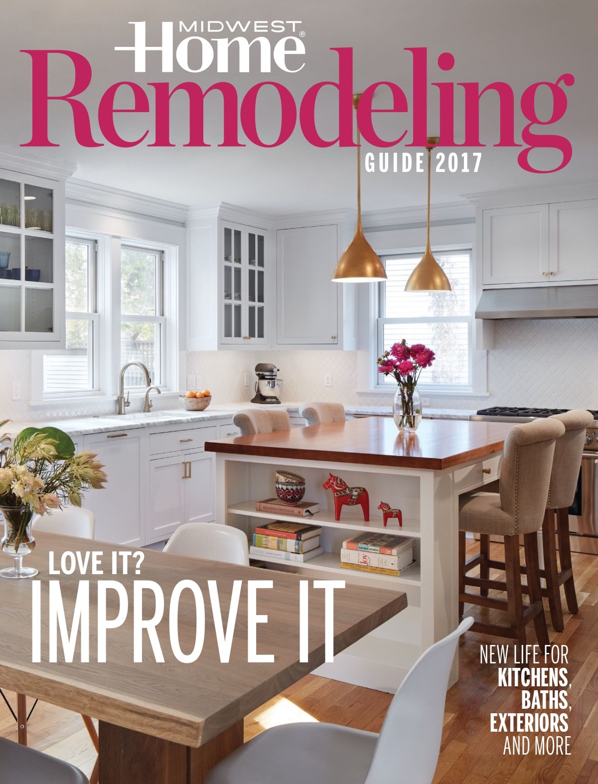 Midwest Home Cover Story - Hage Homes Linden Hills Remodel